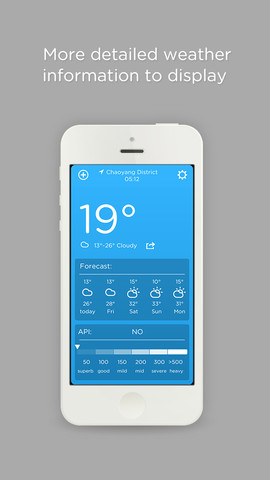 Weather Forecast (Daily Weather Forecast- Air Pollution Index)