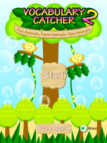 Vocabulary Catcher 2 - Zoo Animals, Farm Animals and Sea Animals zoo animals clipart