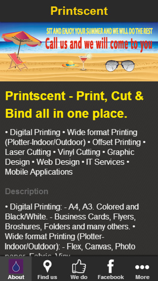 Printscent - Print, Cut & Bind printing from ipad