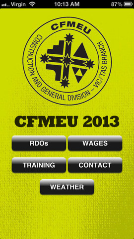 CFMEU RDO Wages and Training 1.1