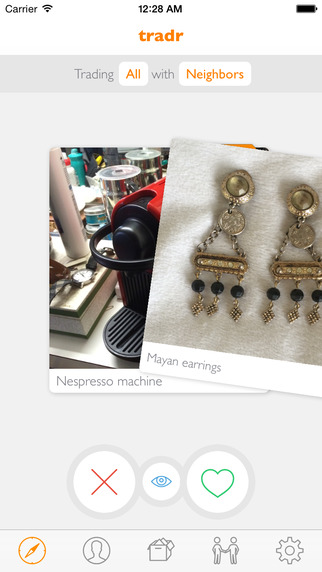 tradr - buy, sell and discover used stuff, handmade, local and creative goods buy local used stuff