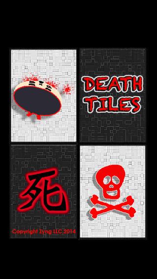 Death Tiles: Don`t step on the white tile or skull tile, your ninja will die artwork on tile