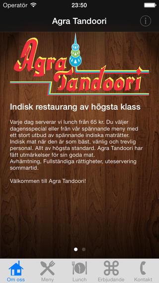 Agra Tandoori Stockholm agra