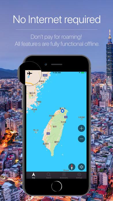Taiwan Offline Navigation taoyuan city