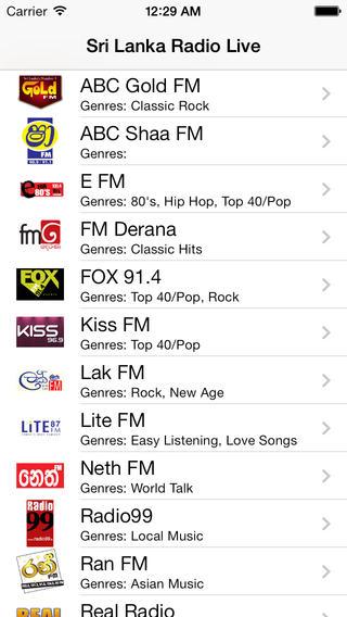 Sri Lanka Radio Live Player (Jayawardenapura / Sinhala) gossip lanka sinhala