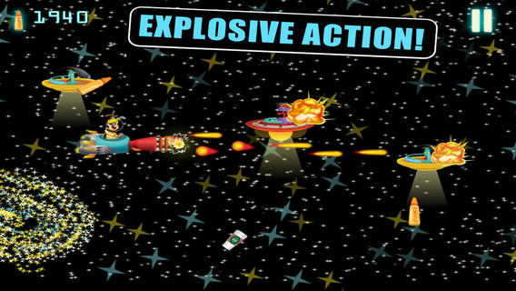 Aliens Love Spray Cheese- An Eco-friendly Cadet Space Shooter Game eco friendly wallpaper