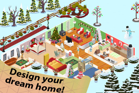 Home Design Story Cydia Home Design Story Christmas App For Ipad Iphone  Games