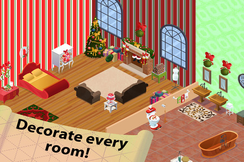 Home Design Story Christmas App For IPad IPhone Games