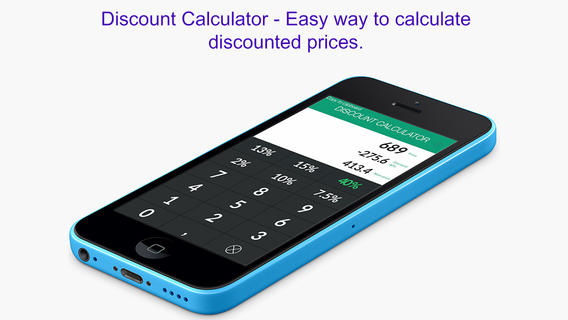 Discount Calculator - Easy way to calculate discounted prices discount