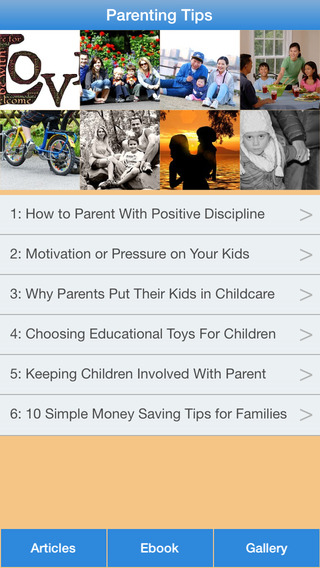 Parenting Tips - A Parenting Guide To Take Care Your Children good parenting skills list