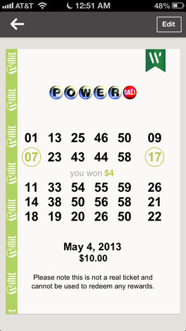 20 powerball tickets locations
