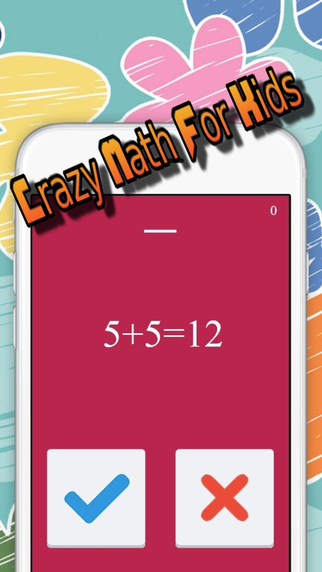 Crazy Math For Kids - Math educational and learning games math games