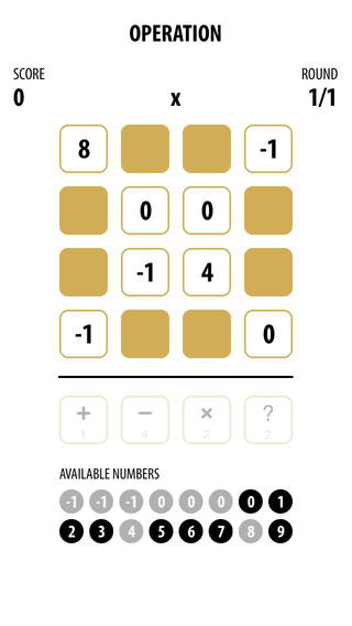 Operation : Stylish Number Game for Mental Improvement operation game