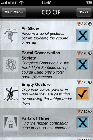 Portal 2 Unlocks