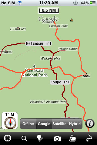 Haleakala National Park - GPS Map Navigator 3.3