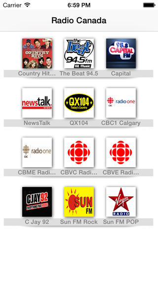 My Radio Canada: Canadian All radios in the same app! Cheers radio;) radio canada