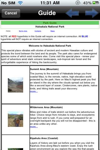 Haleakala National Park - GPS Map Navigator