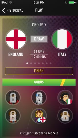Quinielinha soccer predictions