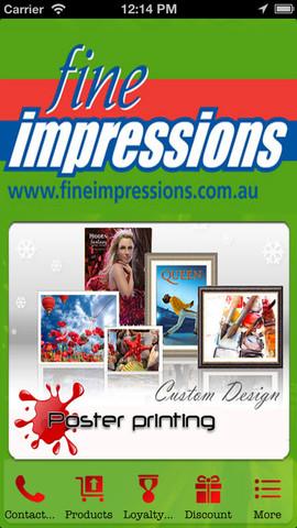 Fine Impressions printing impressions