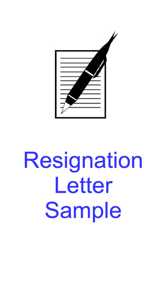 Resignation Letter Sample - Templates and Examples of Job Resignation Letters reference letter examples