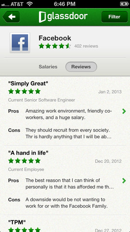 Glassdoor: Salaries & Company Reviews