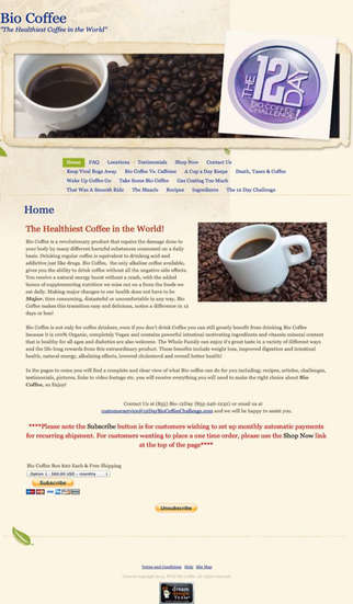 Bio Coffee effects of drinking coffee