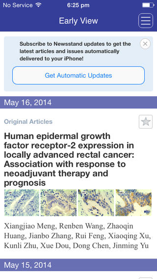 Cancer Science privacy issues articles
