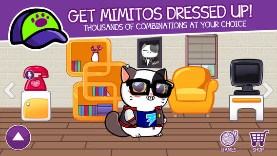 Mimitos Meow! Meow! - Virtual kitten with minigames