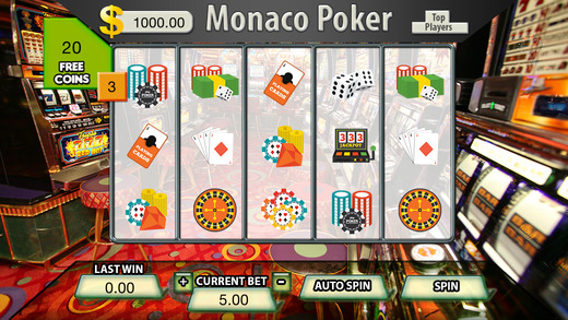 Monaco Poker Slots - FREE Slot Machine Game monaco rare coins