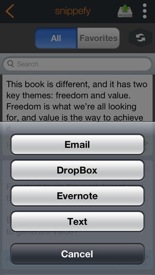 Snippefy - Read and Share Your Kindle Highlights and Notes