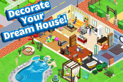 Home Design Story Dream Life App For Ipad Iphone Games