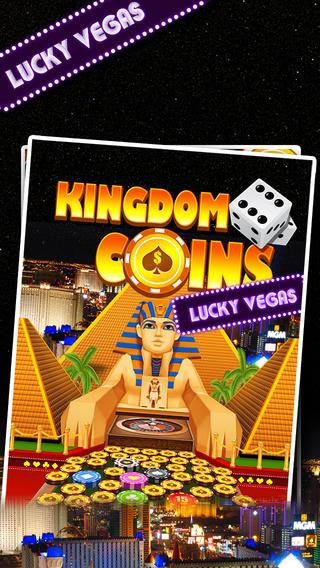 Kingdom Coins Lucky Vegas - Dozer of Coins Arcade Game monaco rare coins