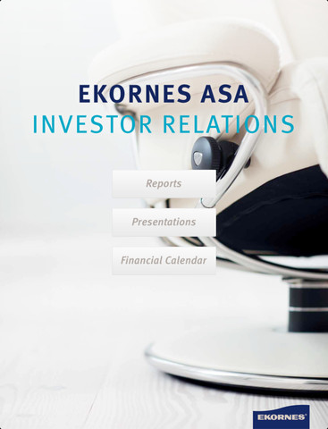 Ekornes Investor Relations sofas chairs minneapolis