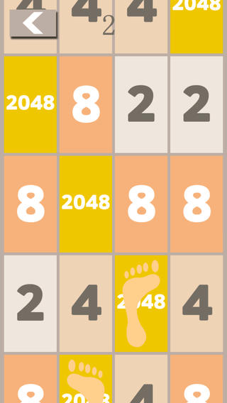 Tap 2048 Tile-Don`t Touch The Other Number Tile artwork on tile