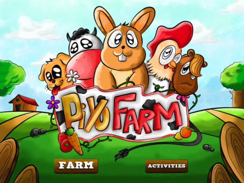 Piyo Farm fun ipad mini games