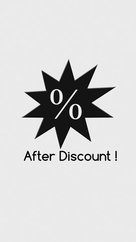 After Discount ! discount
