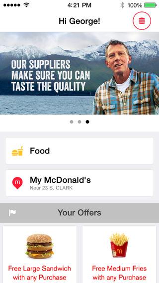 McDonald`s Mobile