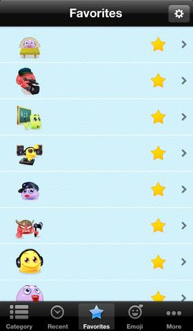 Emoji Smileys Lite 1.0 App for iPad, iPhone - Productivity - app by