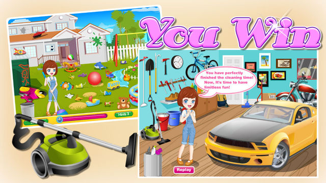 Cleaning Time Dad`s Garage-Lora Cleaning Room&House Cleaning Games house cleaning prices