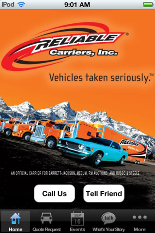 Reliable Carriers - Enclosed Car Transportation, Auction Transport, Collector Ca q auto transport