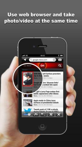 Private Ninja Cam – Use Camera inside Web Browser