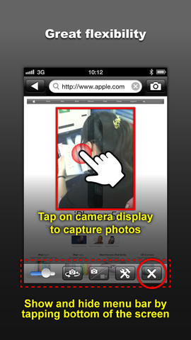 Private Ninja Cam – Use Camera inside Web Browser