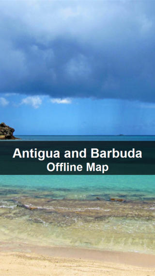 Antigua and Barbuda Map - World Offline Maps antigua barbuda map