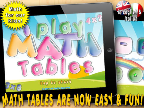 i Play Math Tables. Math Games for Kids to Learn Math Operations and Math Tables. math games