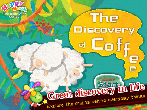 The Discovery of Coffee - Picture book with interactive format-Happy Book book cataloging app