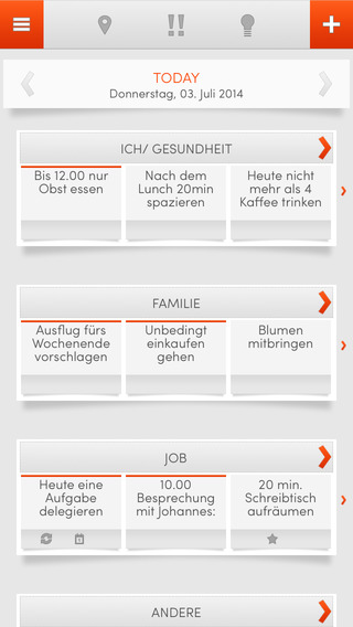 THINKIES - Die Work-Life Balance App work life balance ideas