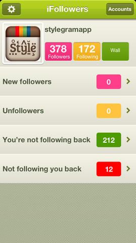 iFollowers - Multiple Instagram Accounts Follower and Unfollower Tracker Pro