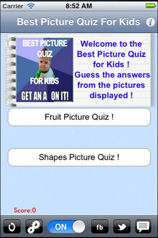 trivia quiz children with blog