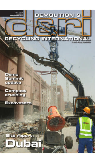 Demolition & Recycling International – D&Ri, The magazine for the serving the global demolition and C&D waste recycling industry recycling today