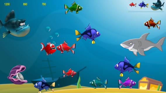 Hungry Fish 3D fish aquaria